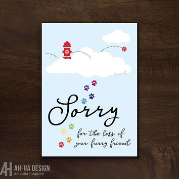 Shop Sympathy Cards For Pets on Wanelo