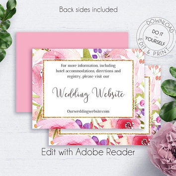 Shop Wedding Insert Cards on Wanelo