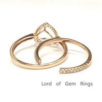 Shop Trillion Ring Settings on Wanelo