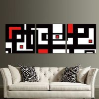 Shop Red Modern Wall Art on Wanelo