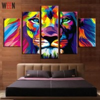Shop Colorful Abstract Wall Art on Wanelo