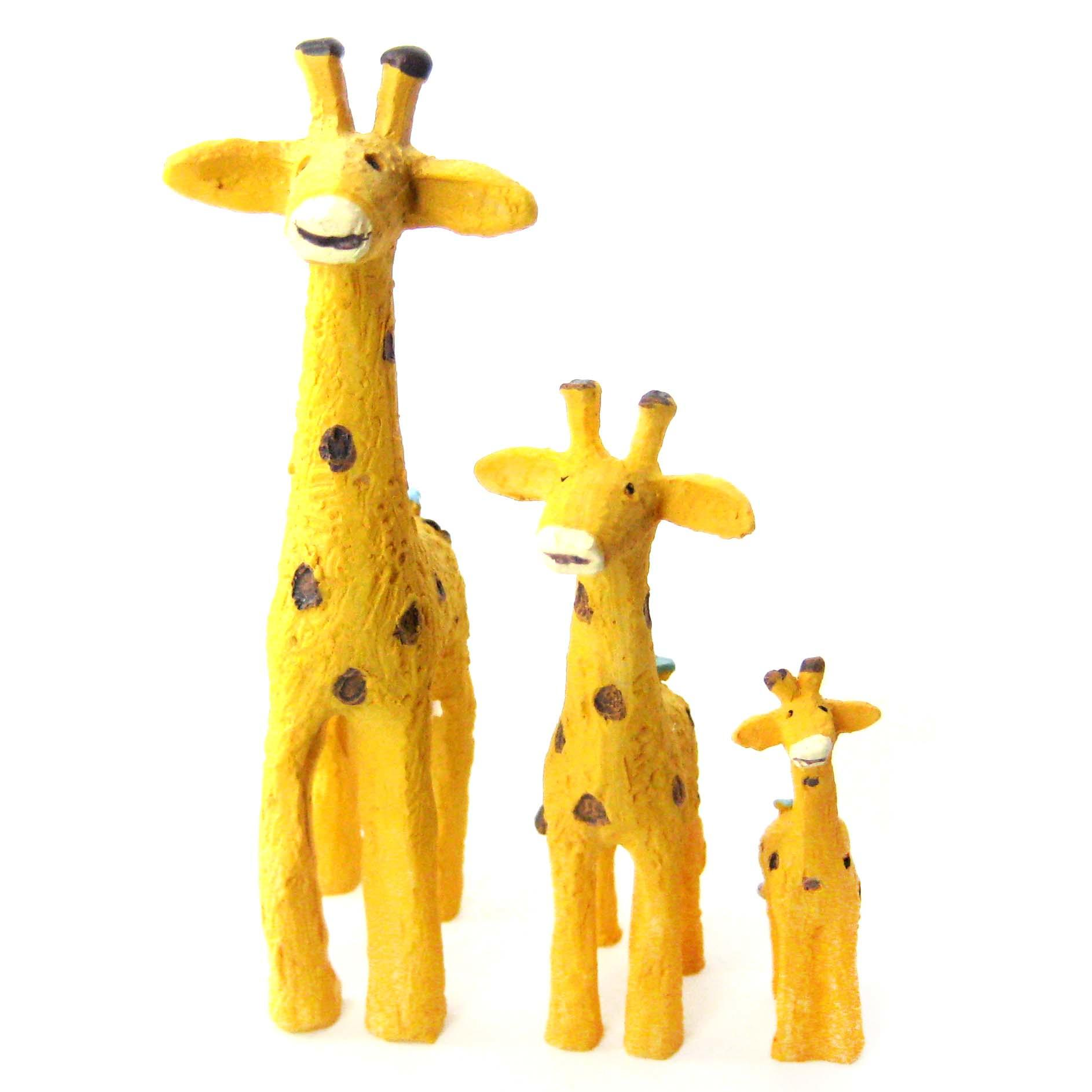Animal Figurines Home Decor Giraffe Cute Animal Hand Painted Figurine From Dotoly The