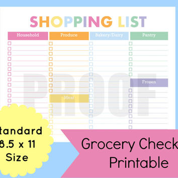 Shop Grocery Shopping List on Wanelo - grocery shopping list template