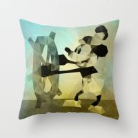 Shop Mickey Mouse Throw Pillow on Wanelo