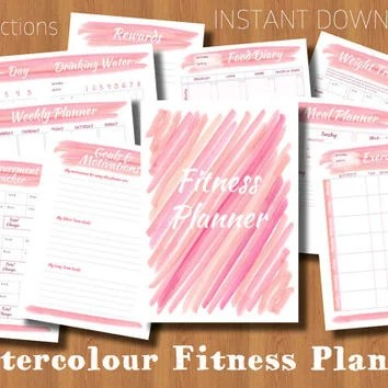 weight loss journal print out - Onwebioinnovate - Free Fitness Journal Printable