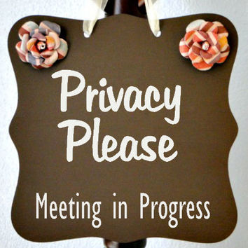 meeting in progress sign lexu