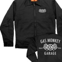 Gas Monkey Garage Checkered Flag Work Jacket - Fast n Loud