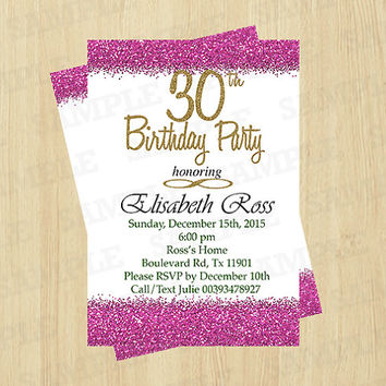 Joint birthday party invitations for from ArtPartyInvitation on