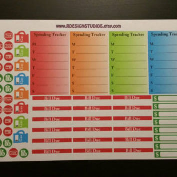Monthly budgeting Dave Ramsey Planner / from rdesignstudios on