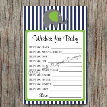 Baby Shower Game Printable Dear Baby from Bump and Beyond Designs