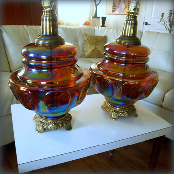 COLOSSAL VINTAGE LAMP / 1960s Carnival from ACES FINDS VINTAGE