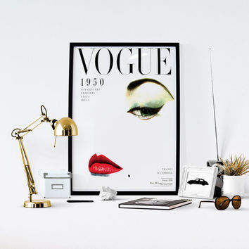 Shop Vogue Cover Posters on Wanelo - fashion poster design