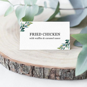 Shop Wedding Buffet Labels on Wanelo