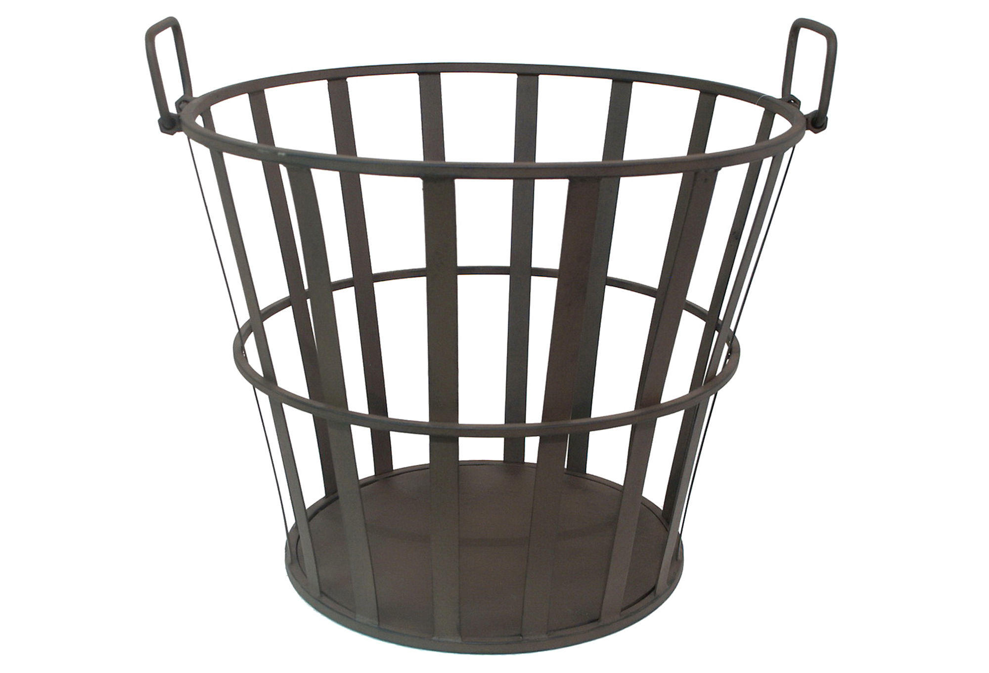 Fancy Baskets 16 Quot Metal Basket Black Decorative Bins From One Kings Lane