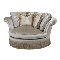 Rosamund Cuddle Chair from Frontgate | Home Decorateness