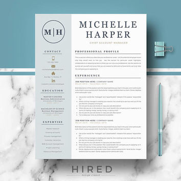 Best Modern Resume Templates Products on Wanelo
