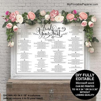 Shop Wedding Seating Chart on Wanelo