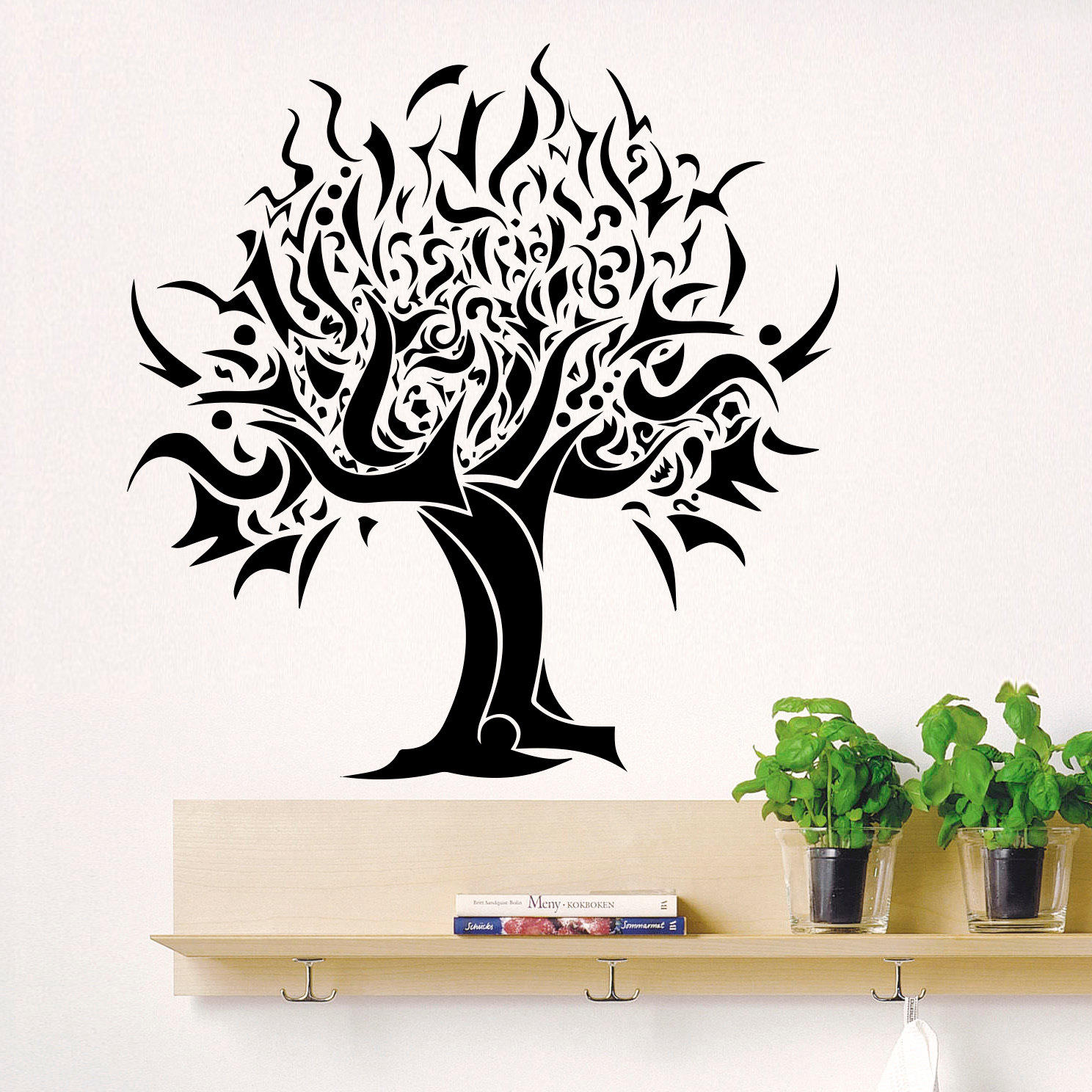 Bedroom Wall Art Trees Wall Decal Tree Silhouette Decals For From Decalsfromdavid On