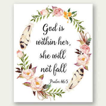 Wallpaper Ideas For Baby Girl Nursery Shop Christian Scripture Art On Wanelo