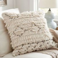 Moroccan Wedding Blanket Pillow Cover from Pottery Barn