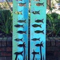 Best Fish Sculpture Wall Art Products on Wanelo