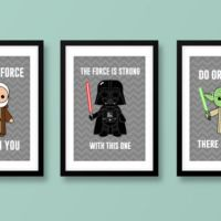 Star Wars wall art, kids wall art, Star from MiniHeroes on ...