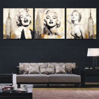 Shop Marilyn Monroe Canvas Art on Wanelo