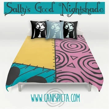 Nightmare Before Christmas Bedding Duvet from Canis Picta MaSh - nightmare before christmas bedroom decor