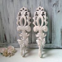 Best Shabby Chic Candle Wall Sconces Products on Wanelo