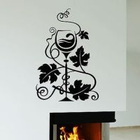 Shop Wine Wall Decal on Wanelo