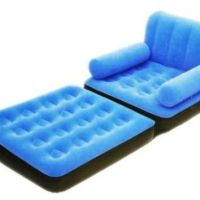 Flocked Inflatable Sofa Chair from Amazon | Things I want as