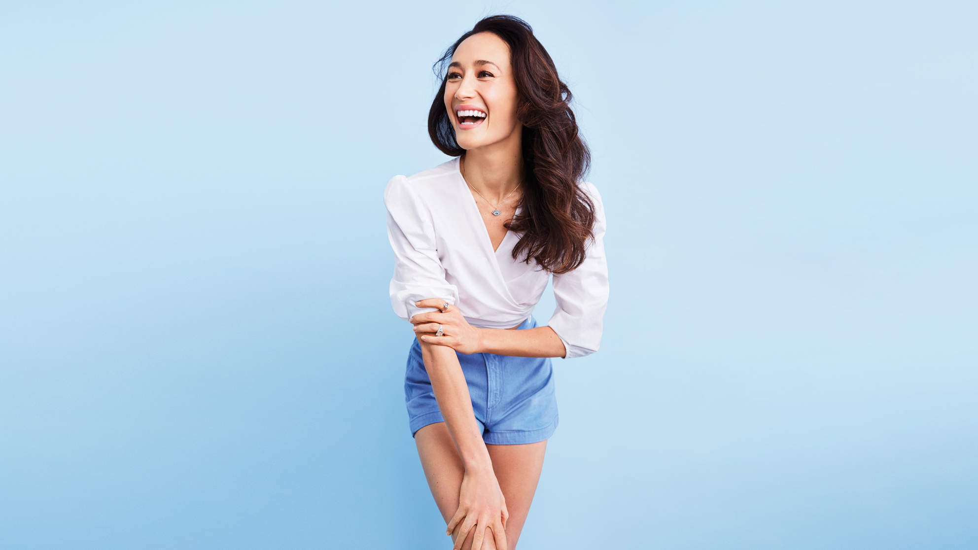 Default Iphone 7 Wallpaper Maggie Q On Being In Hollywood During The Metoo Movement