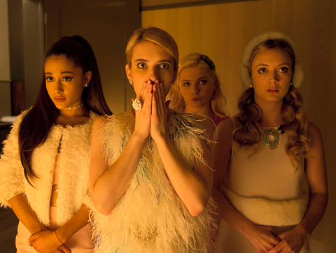 Those Earmuffs on Scream Queens