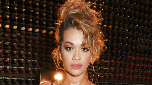Rita Ora Performs in a Red Sequin Paco Rabanne Dress| InStyle.com