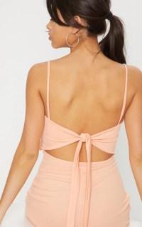 Tangerine Tie Back Skater Dress | Dresses ...