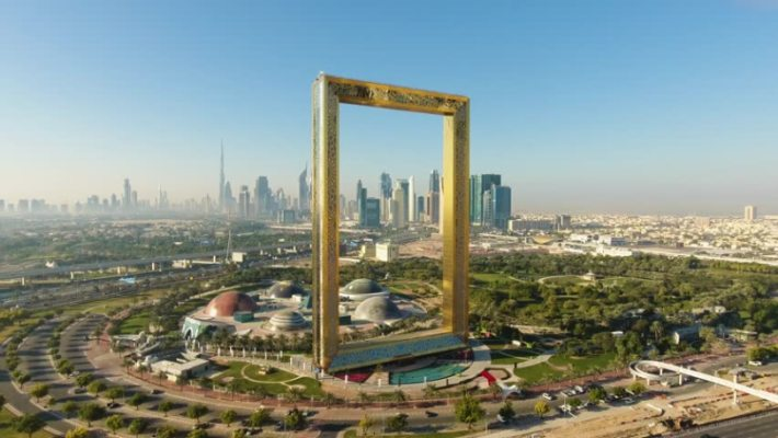 On Top Of The Dubai Frame Visitor S Guide Timings Tickets Tips