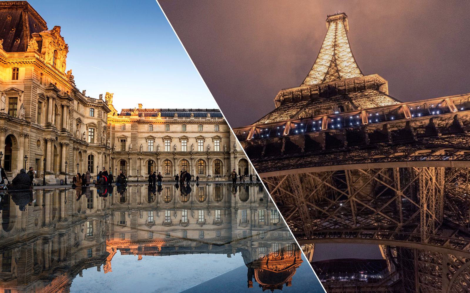 Le Louvre Billet Coupe File Eiffel Tower Skip The Line And Louvre Museum Dedicated Entry Tickets