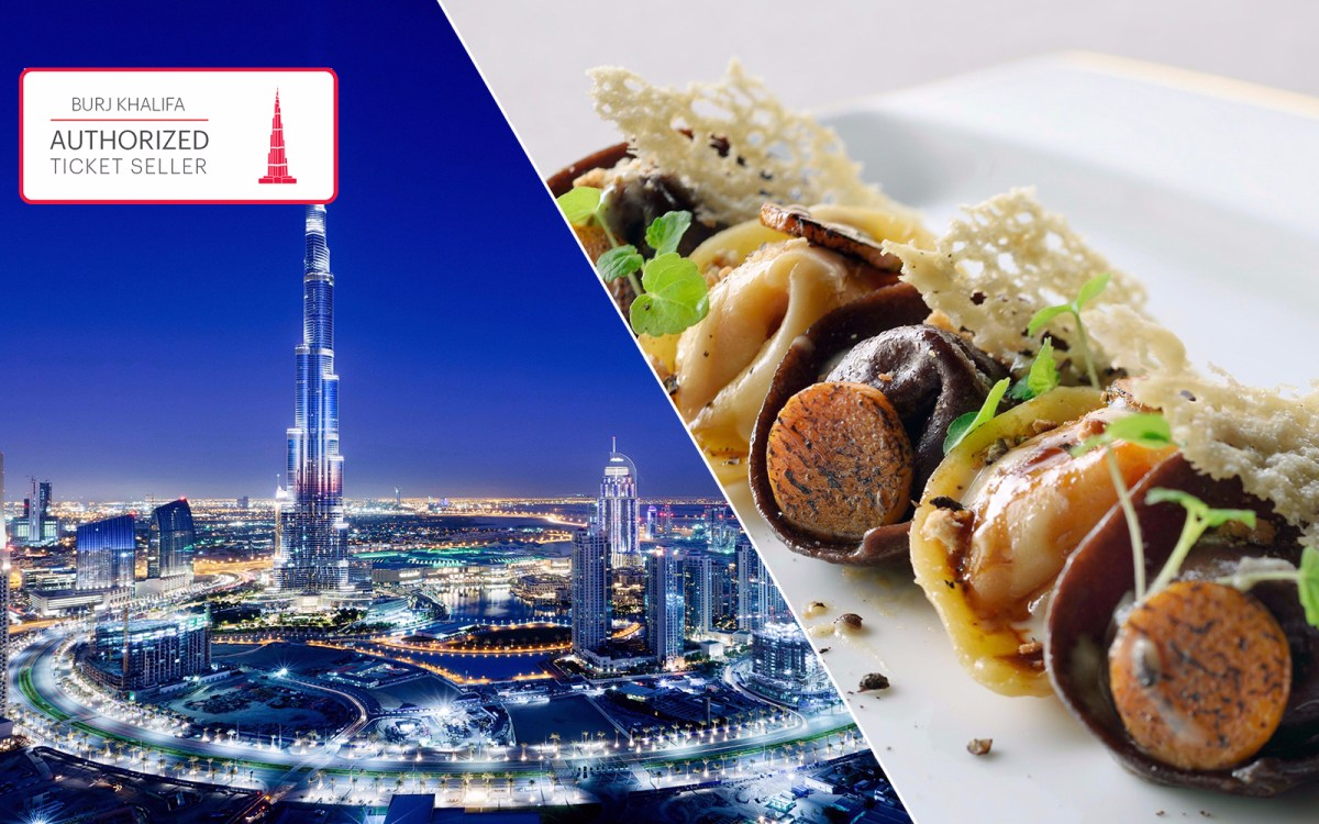 Burj Khalifa At The Top 3 Course Lunch At The Armani Hotel Headout