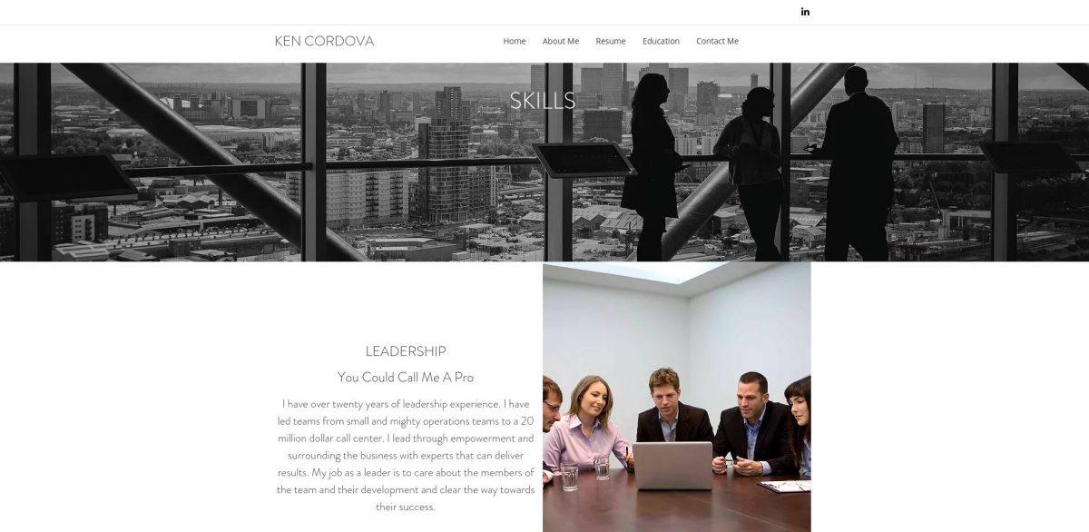 A Model Resume  Career Portfolio to Land a Dream Job