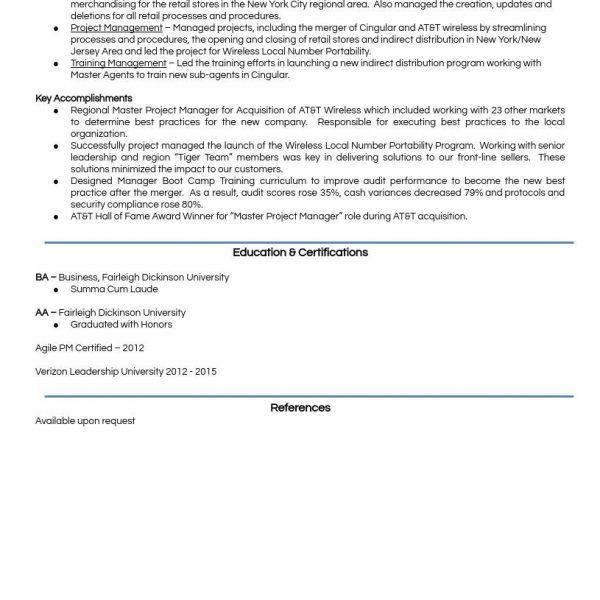 A Model Resume  Career Portfolio to Land a Dream Job - example of simple resume for job application