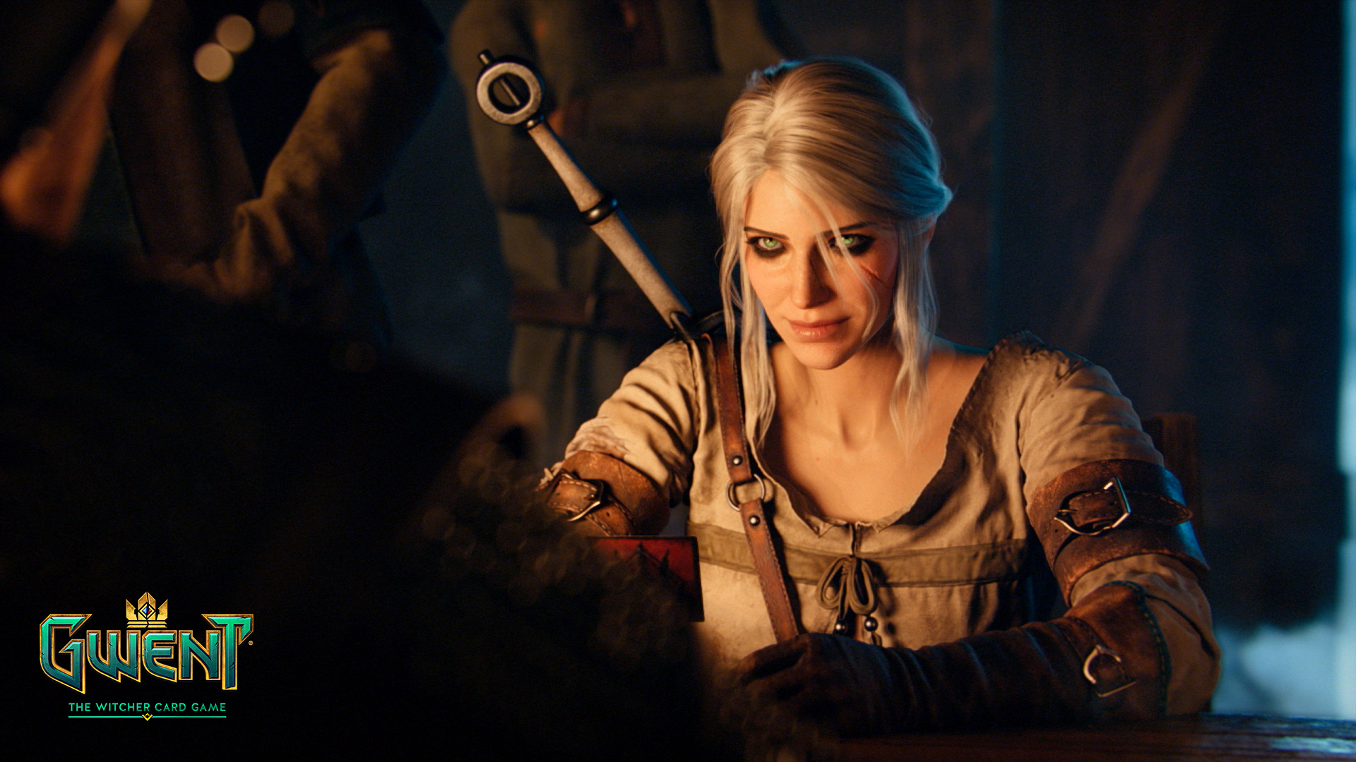 Set Apart Girl Wallpaper Media Gwent The Witcher Card Game