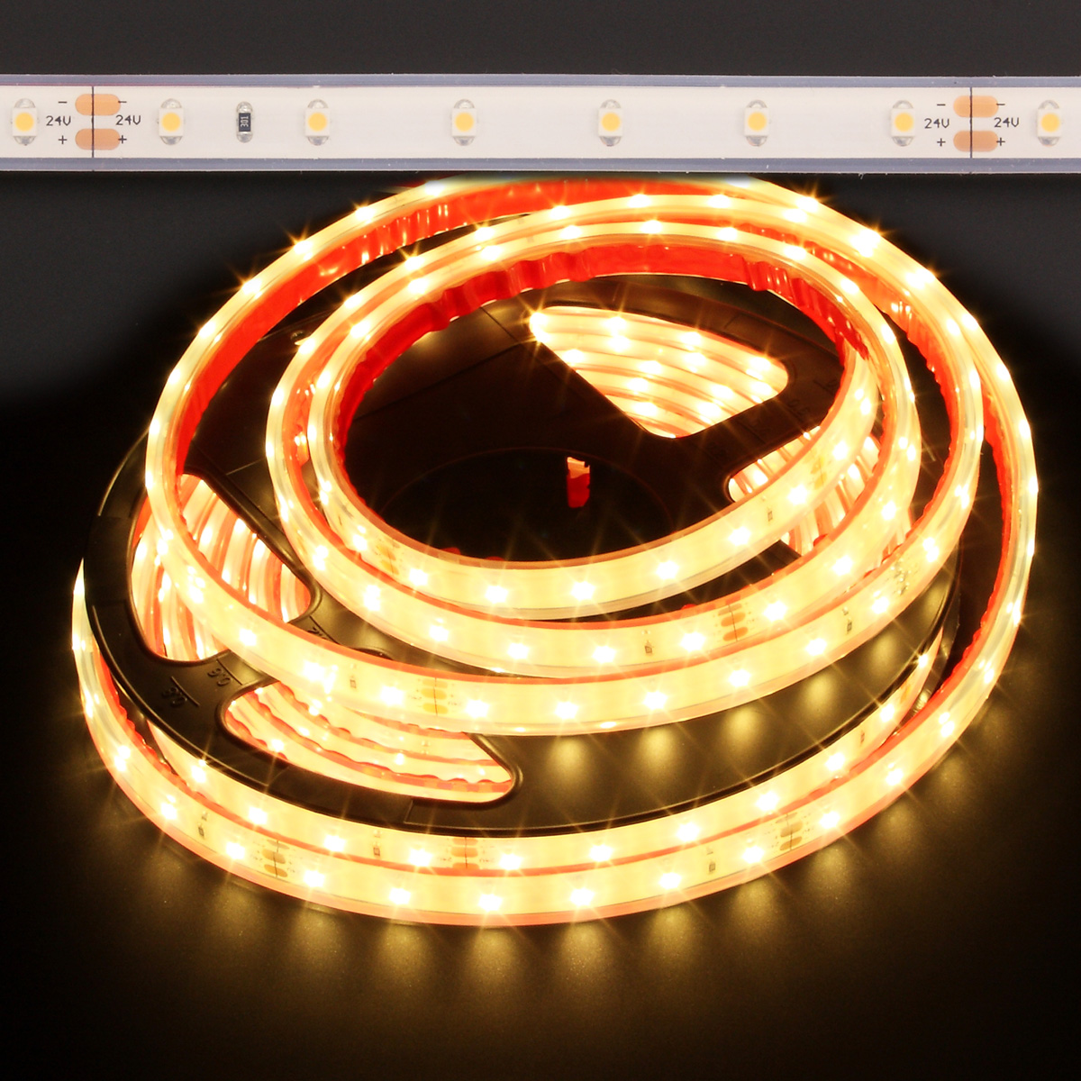 Led Strip Waterproof Candle Light Warm White Waterproof Eco 3528 24w Led Strip Light 2400k