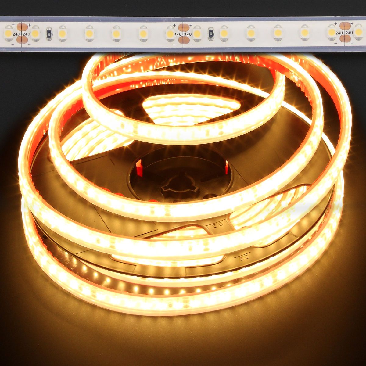 Led Strip Waterproof Candle Light Warm White Waterproof Eco 3528 48w Led Strip Light 2400k