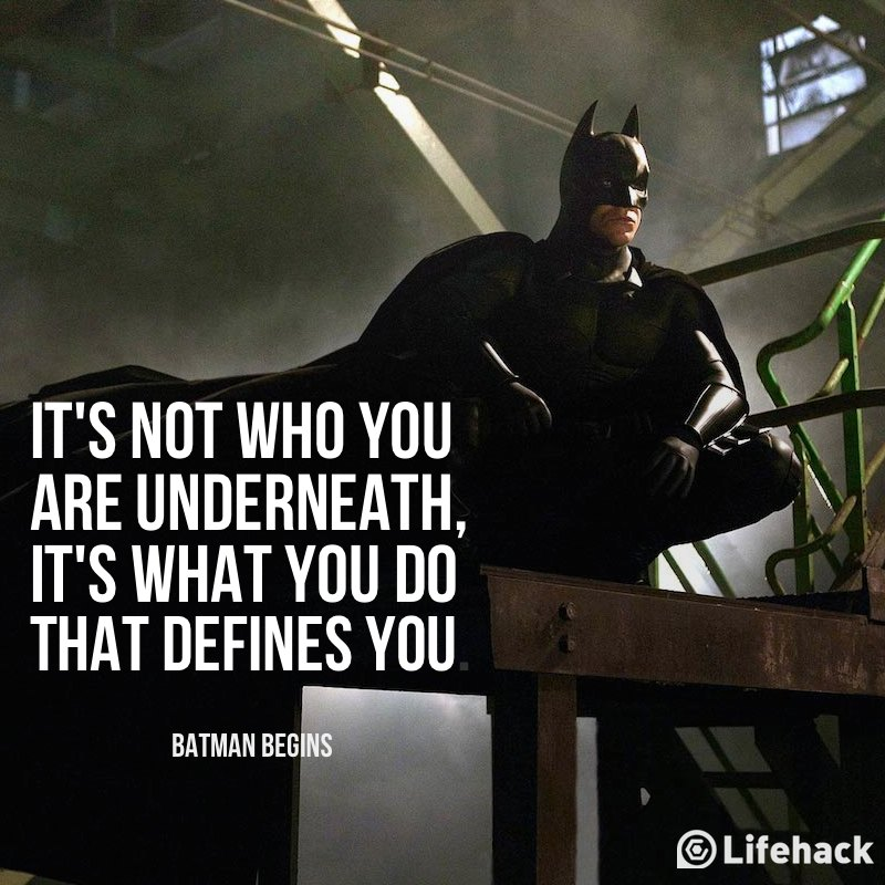 Batman Wallpaper Why Do We Fall Movie Quote Of The Day Batman Begins