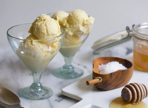 Salt Honey Ice Cream