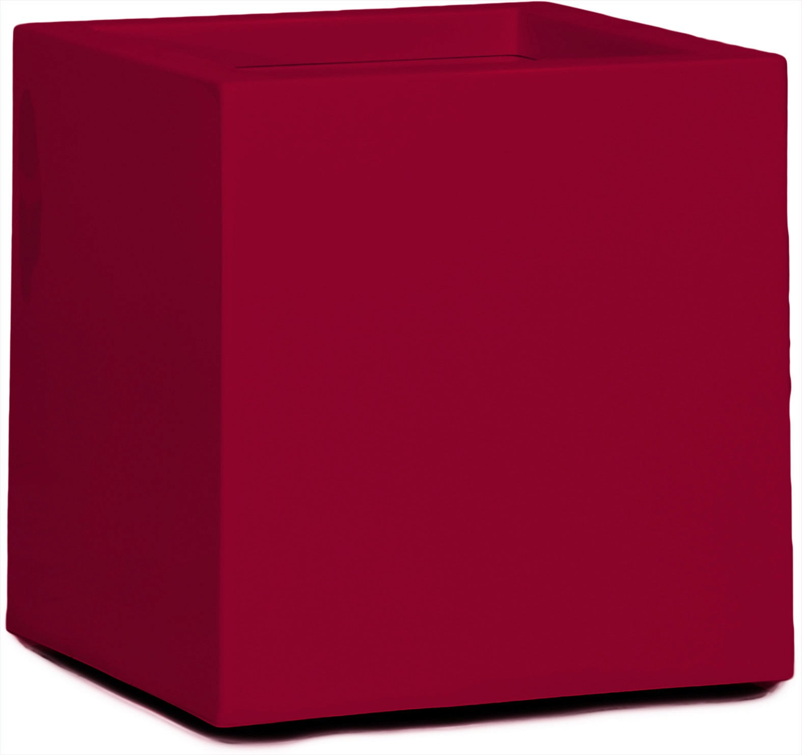 Cubus Online Shop Fleur Ami Premium Cubus Planter In Ruby Red