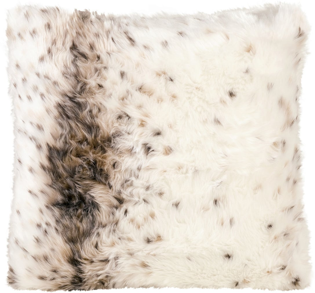 Poolpflege Im Winter Winter Home Webpelzkissen Lynx Interismo Onlineshop