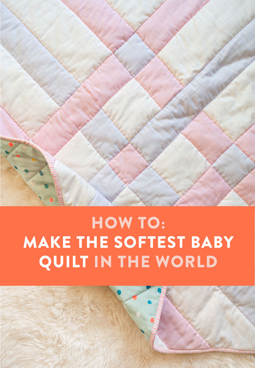 Baby Quilts.com How To Make The Softest Baby Quilt In The World Suzy Quilts