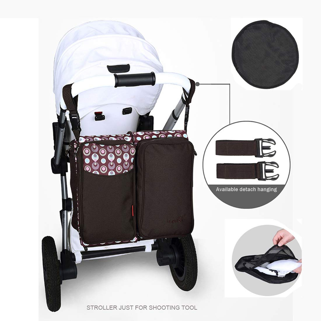 Joolz Day 2 Babyone 3 In 1 Baby Changing Bags Travel Bassinet Nappy Bags Foldable Baby Bed Portable Bassinet With Mosquito Net Large Capacity Mummy Bag Easy Folding For