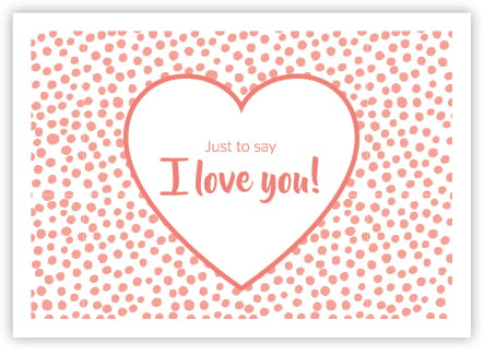 I Love You! - Print Your Own Gift Certificate - Pure Encapsulations - print your own voucher